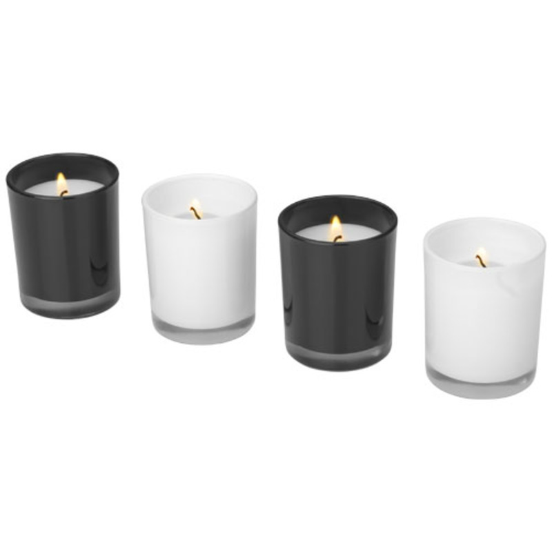 Hills 4-piece scented candle set