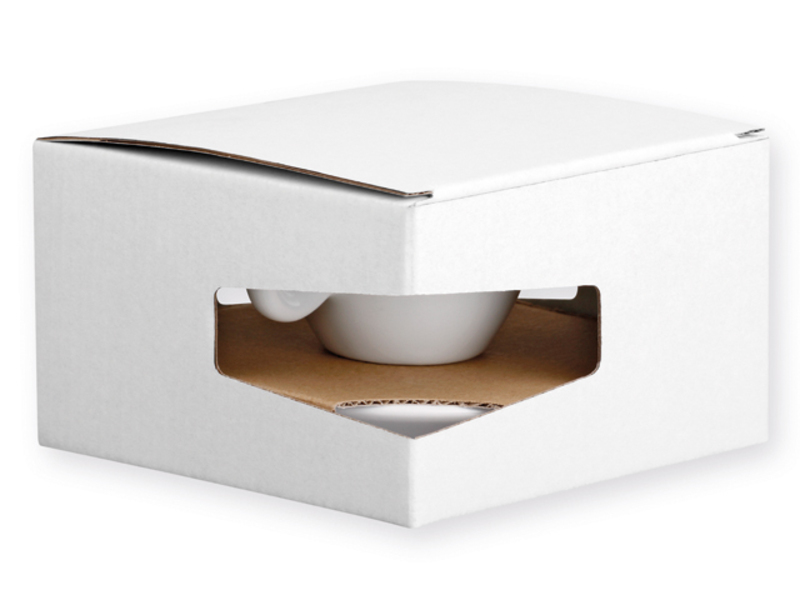 GB PRESSO paper gift box, White