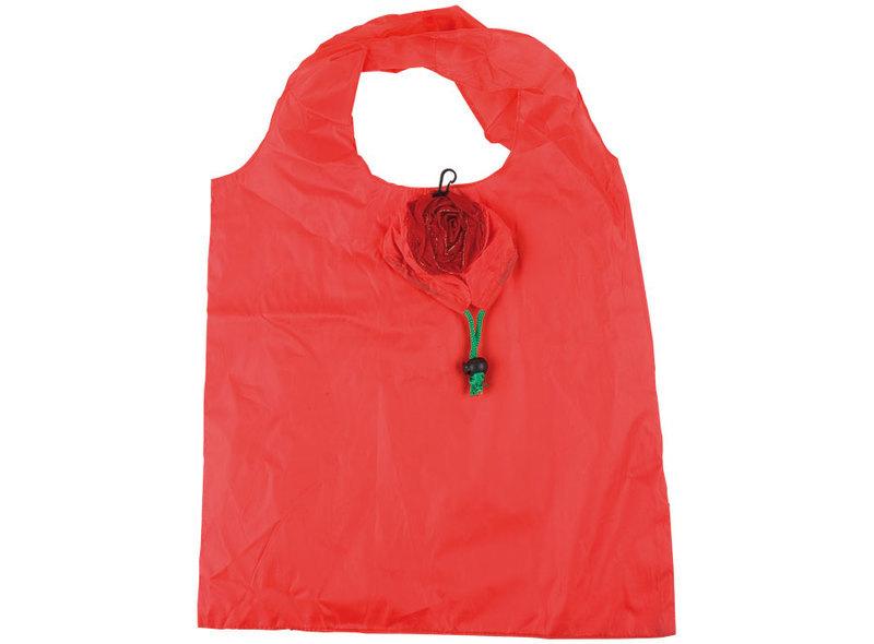 SHOPPING BAG RED ROSE