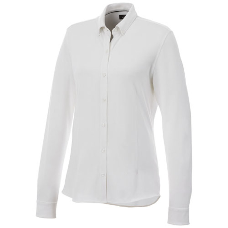 Bigelow long sleeve women's pique shirt