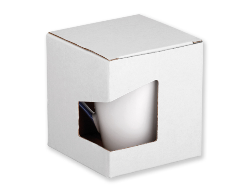 GB COLBY paper gift box, White