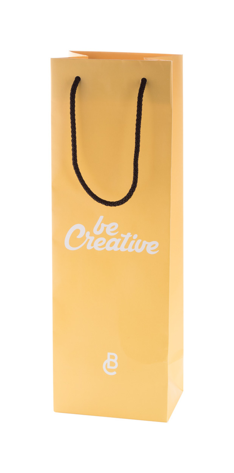 CreaShop W custom made paper shopping bag, wine