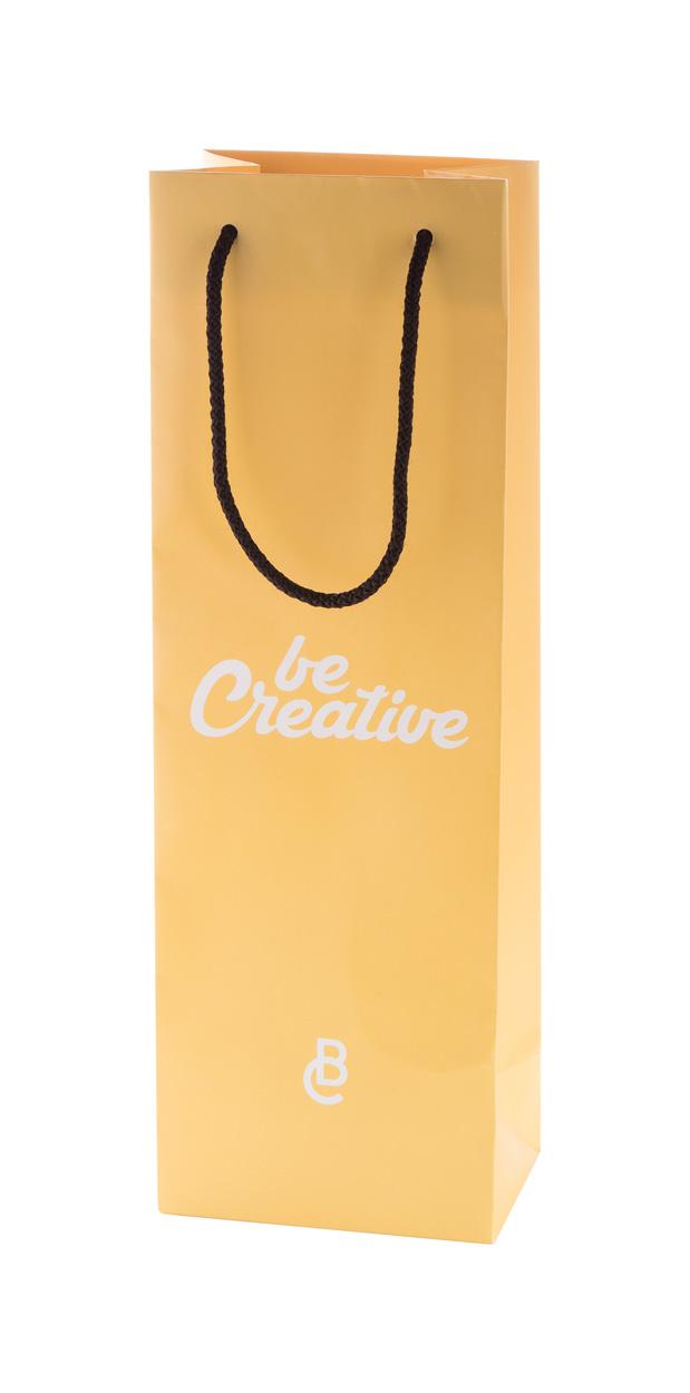 CreaShop W custom made paper shopping bag, wine