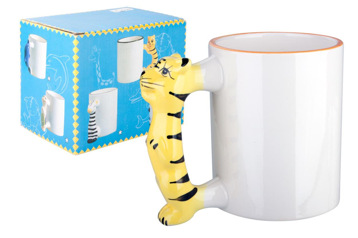 Tiger mug for children