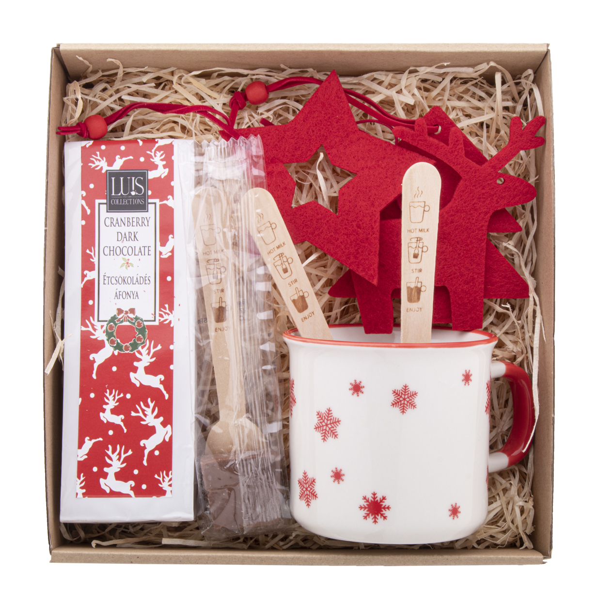 Bruges hot chocolate gift set