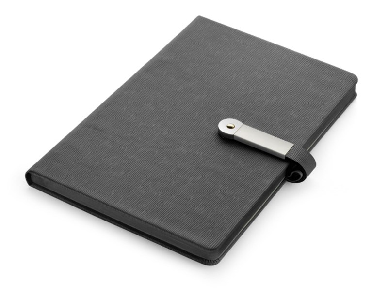 Notebook MIND with USB flash drive 16 GB, A5