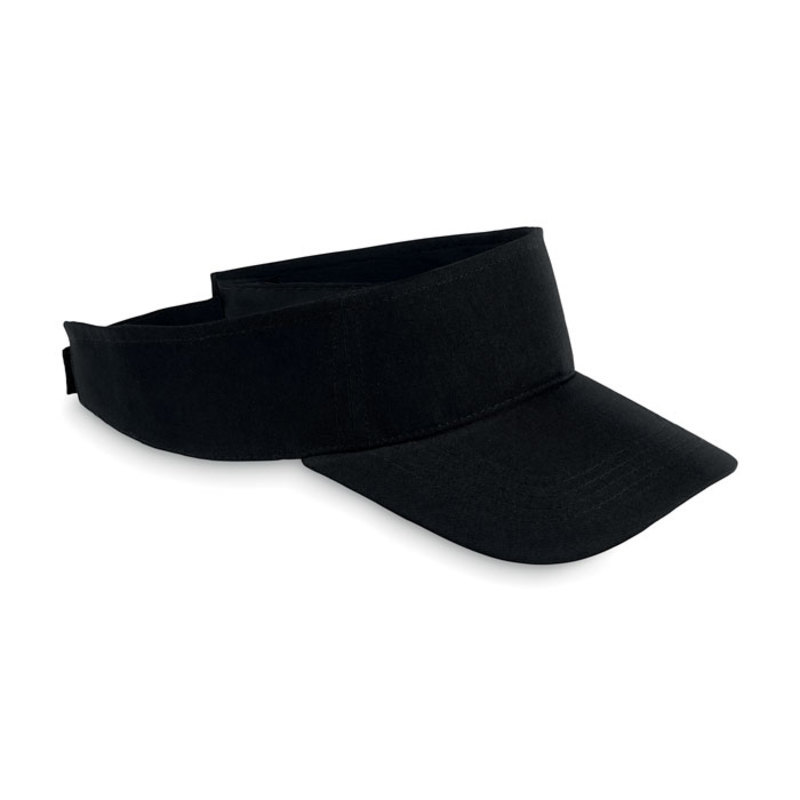 Sun visor in polyester