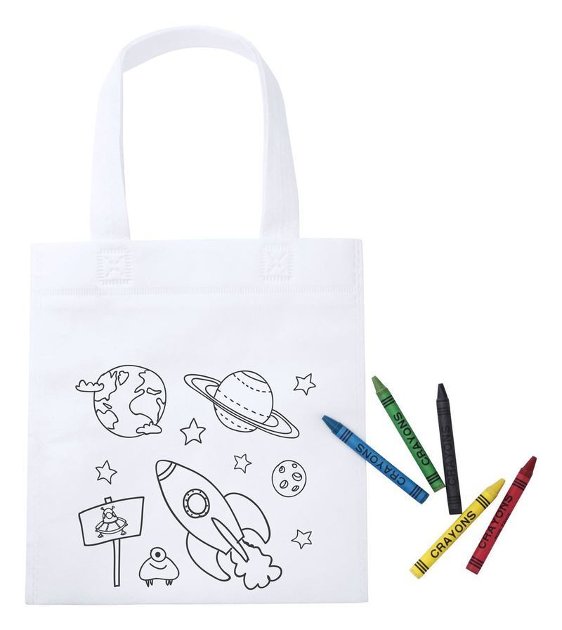 Mosby colouring shopping bag