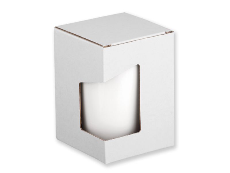 GB DUWAL paper gift box, White