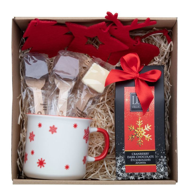 Brussels Hot chocolate gift set