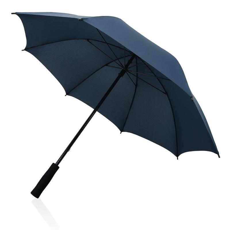 "Full fibreglass 23"" storm umbrella"