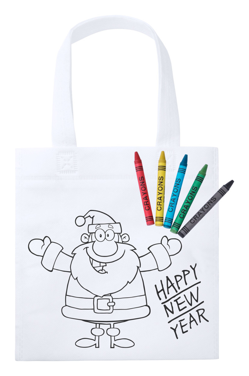 Wistick colouring shopping bag