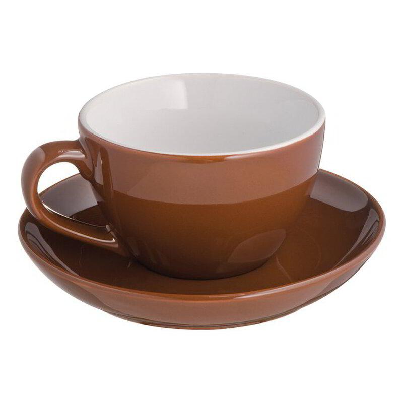 Mug with bottom plate St. Moritz