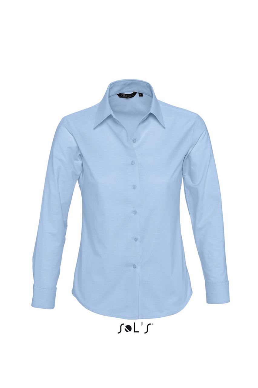 SOL'S EMBASSY - LONG SLEEVE OXFORD WOMEN'S SHIRT