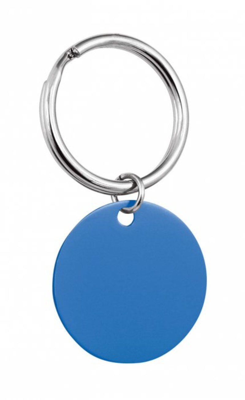 PENDANT ROUND BLUE - D=32 mm