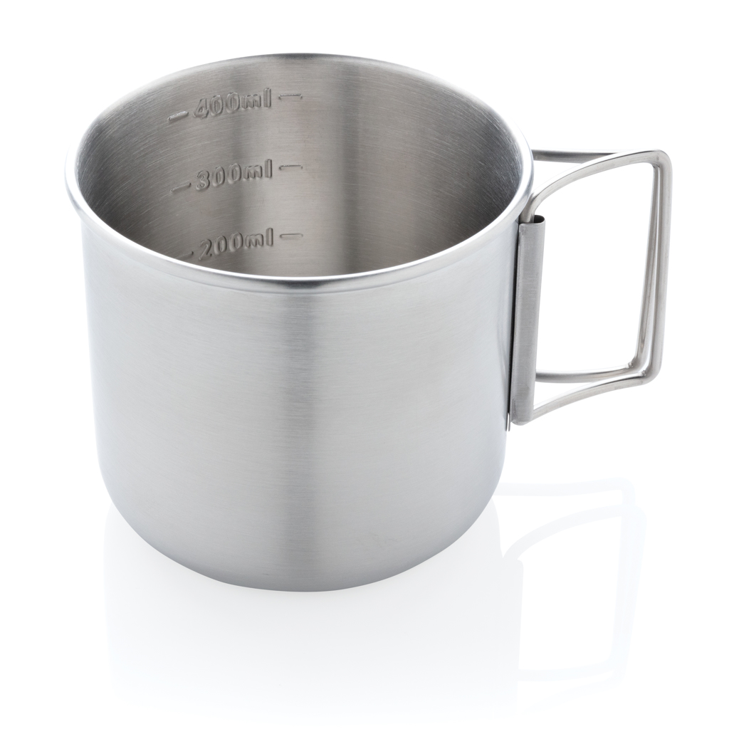 Explorer single wall stainless steel cup