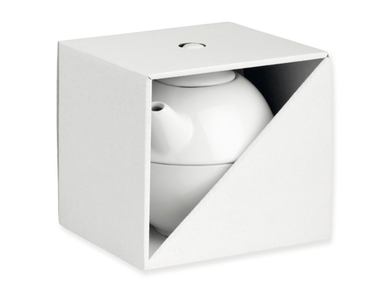 GB TEASET II gift box, White