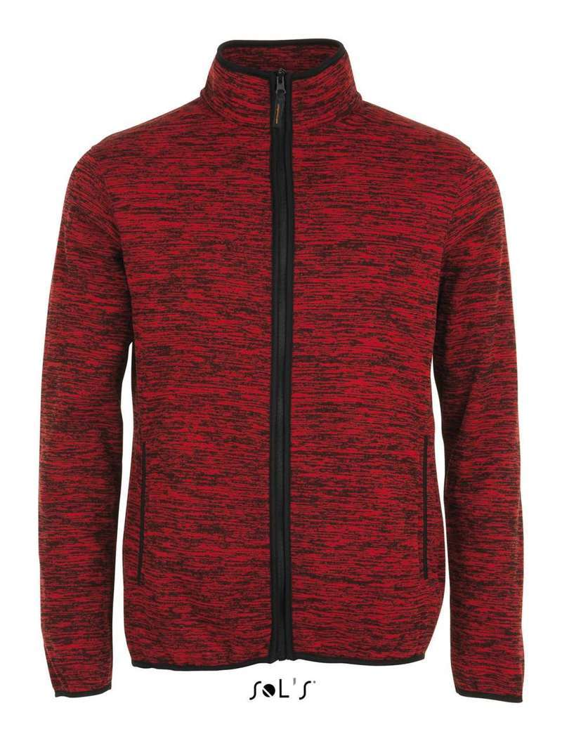 TURBO KNITTED FLEECE JACKET