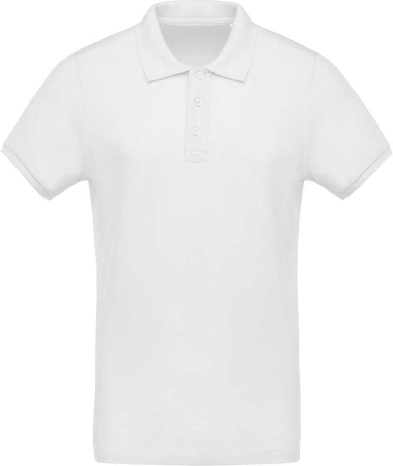 MEN'S ORGANIC PIQUÉ SHORT SLEEVE POLO SHIRT