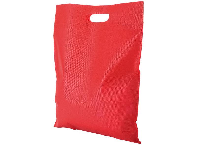 BAG IN TNT RED 38X35 cm