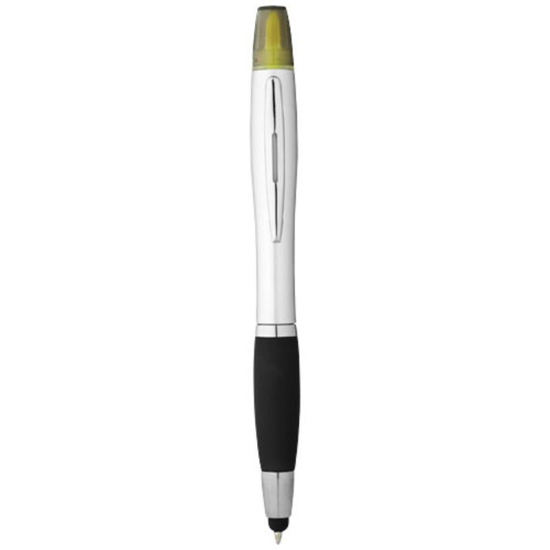 Nash stylus ballpoint pen and highlighter