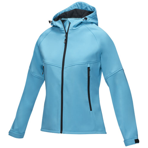 Coltan women's GRS recycled softshell jacket