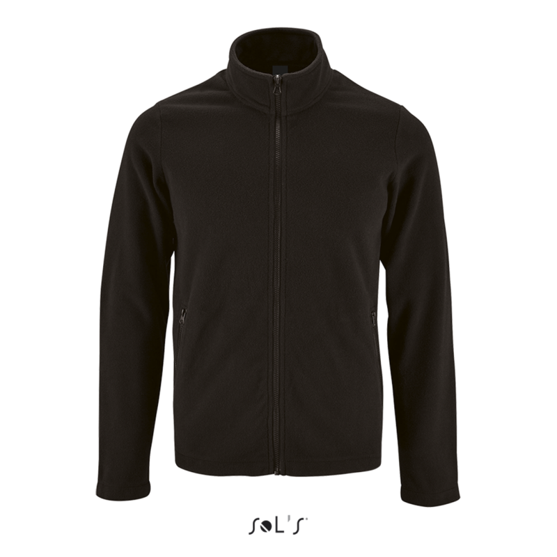 NORMAN - MEN'S PLAIN FLEECE JACKET