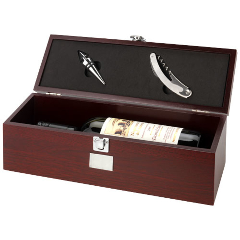 Executive 2-piece wine box set