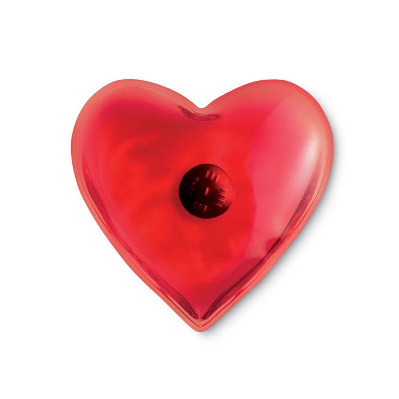 Hand warmer in heart shape