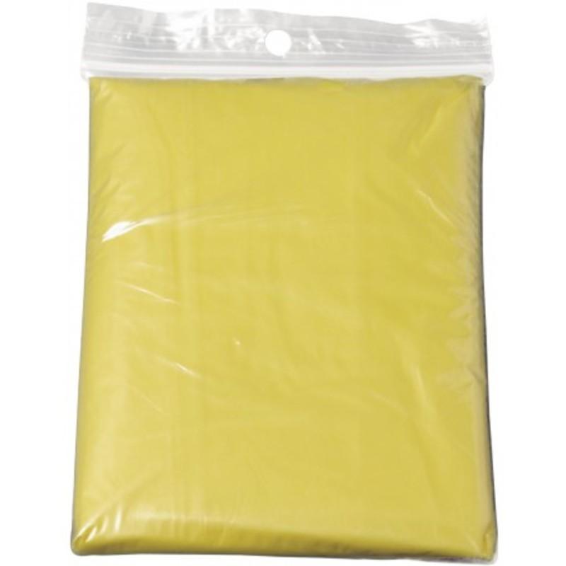 Foldable translucent poncho