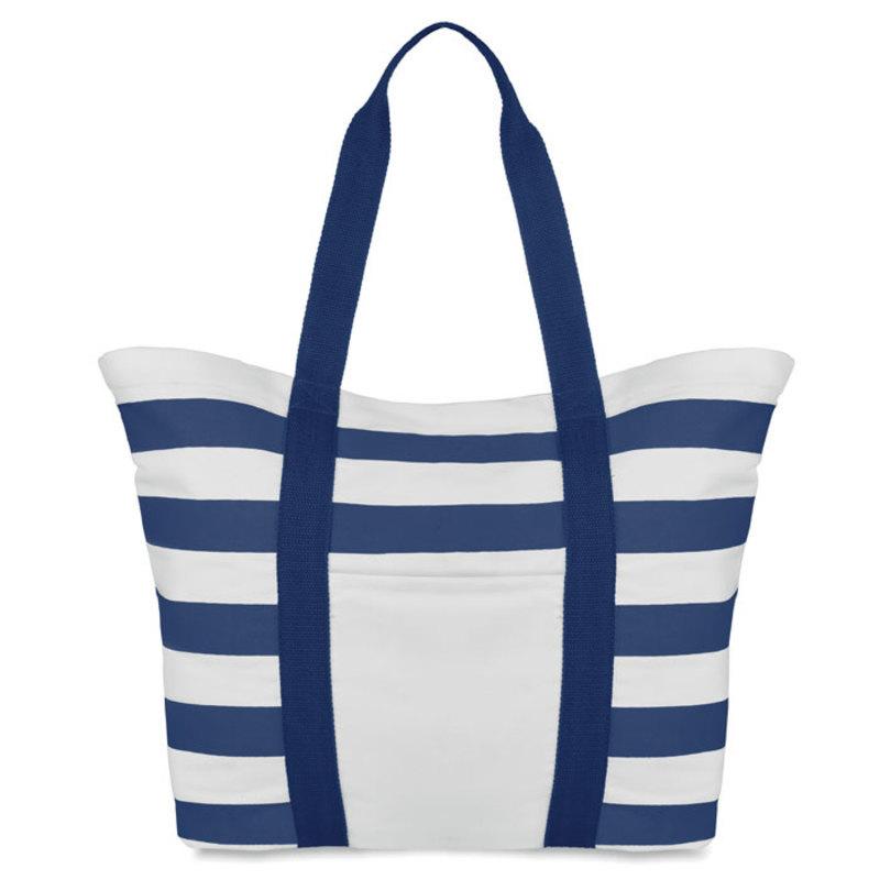 Beach bag striped