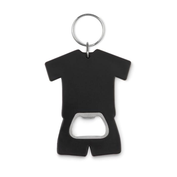 T-shirt bottle opener key ring
