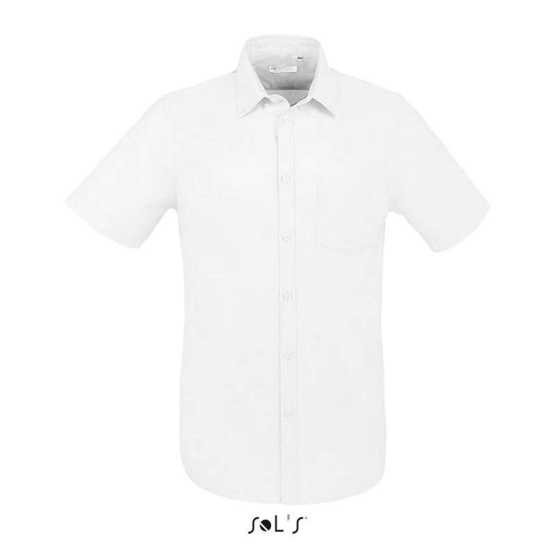 BRISBANE FIT - SHORT SLEEVE OXFORD SHIRT