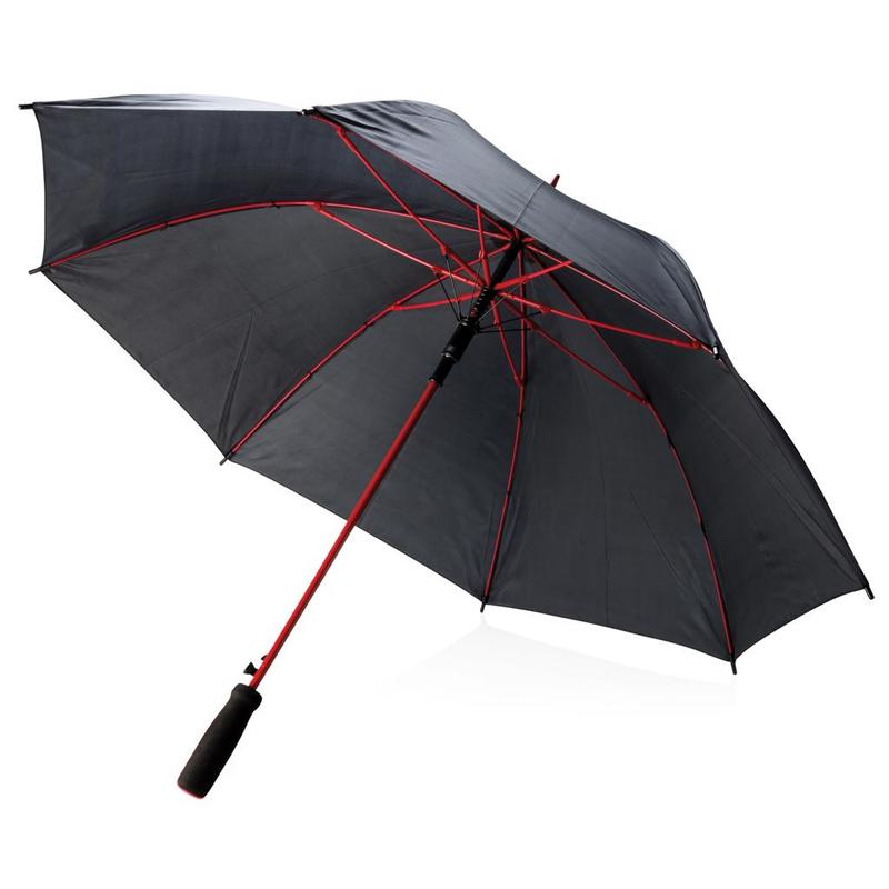 "Coloured 23"" fiberglass umbrella"