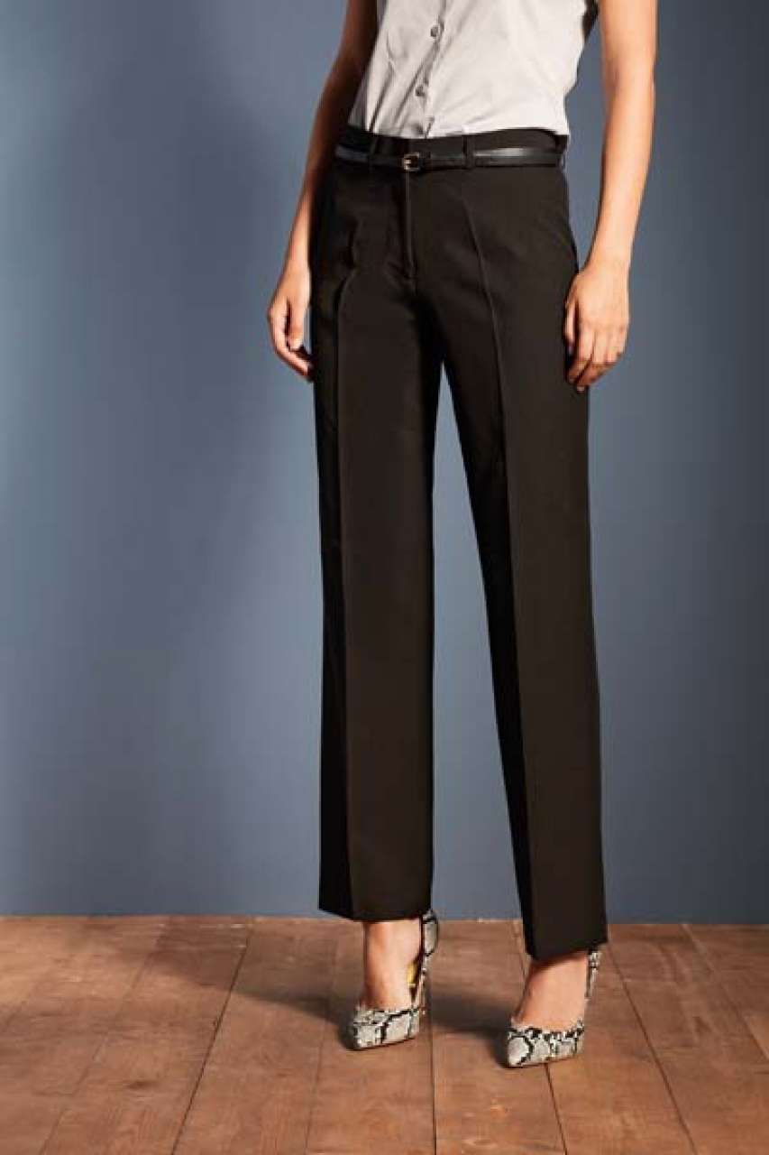 LADIES' POLYESTER TROUSERS