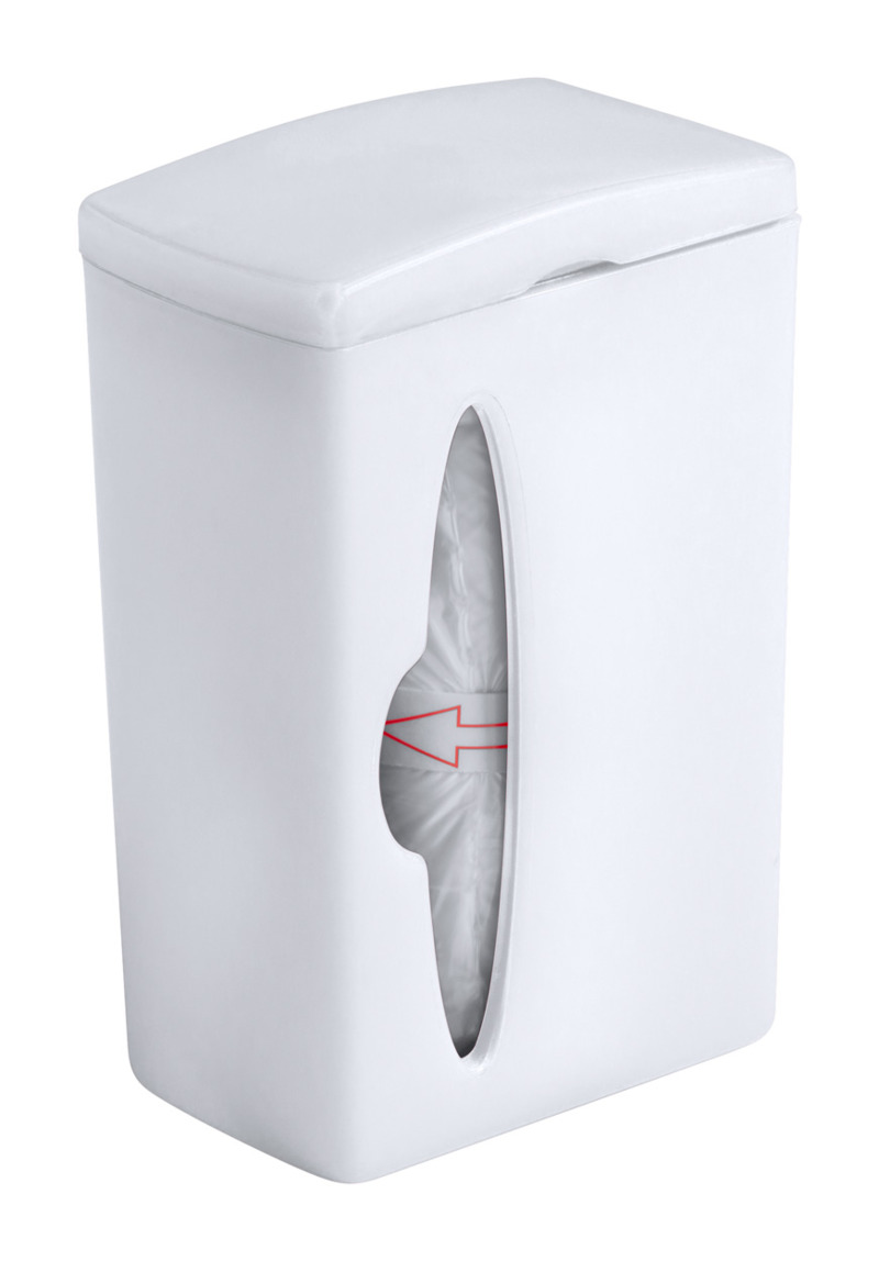 Bluck waste bag dispenser