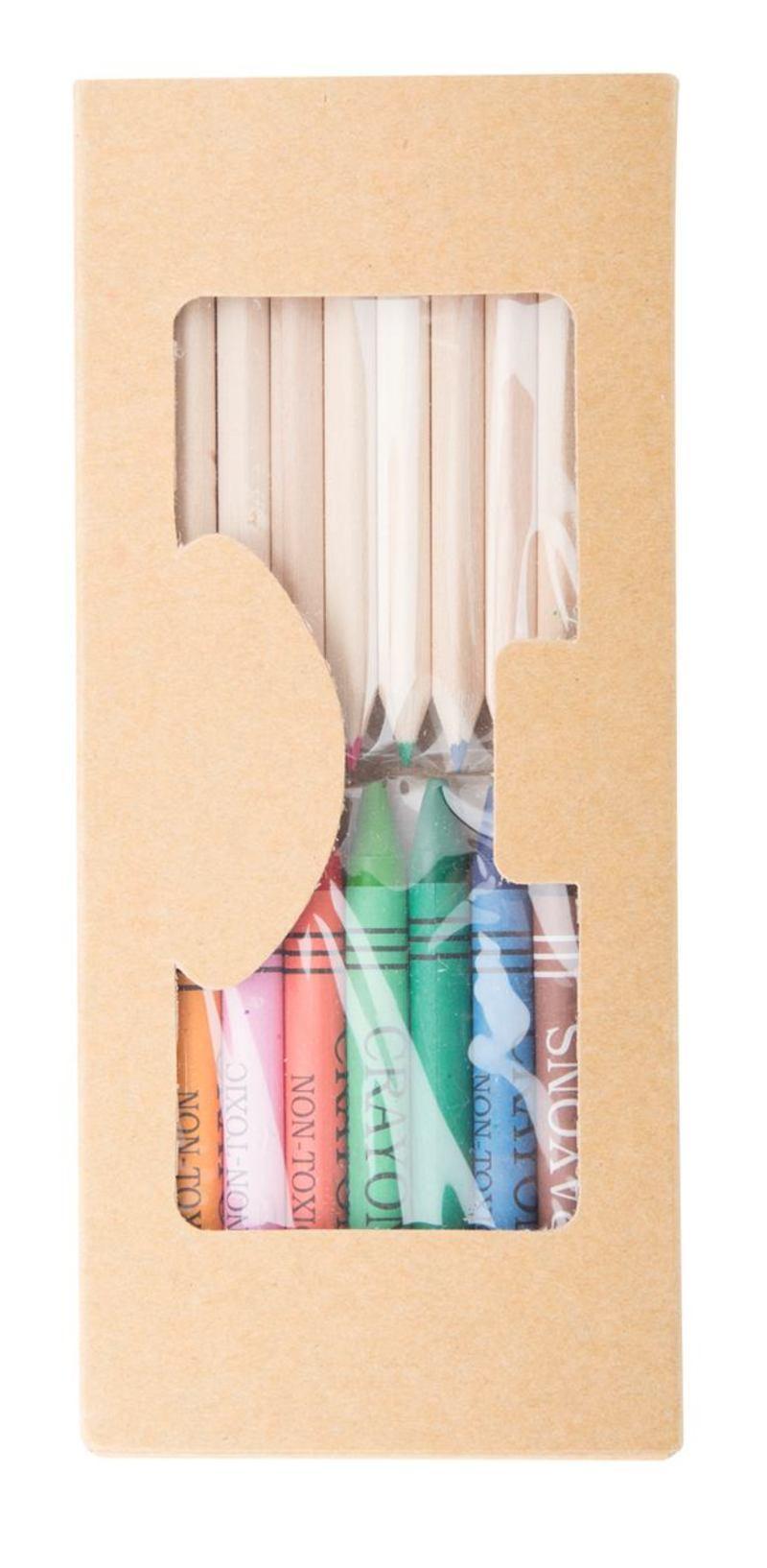 Aladin pencil and crayon set