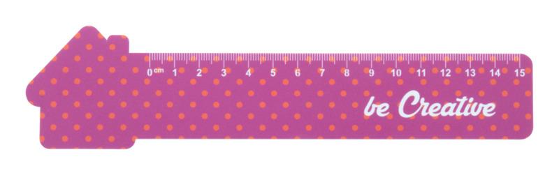 Couler 15 15 cm ruler, house