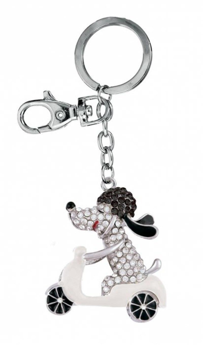 KEY CHAIN DOG SPRINT WHITE - NO BOX