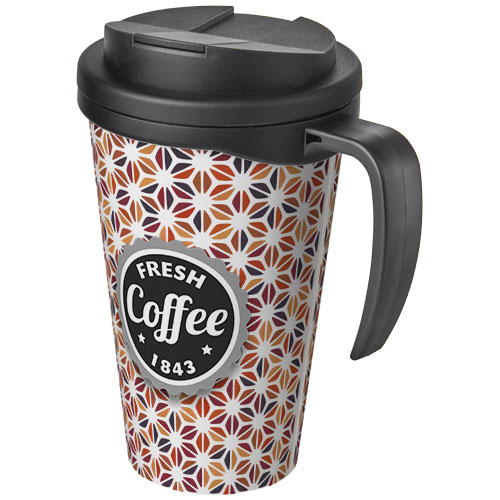 Brite-Americano Grande 350 ml mug with spill-proof lid