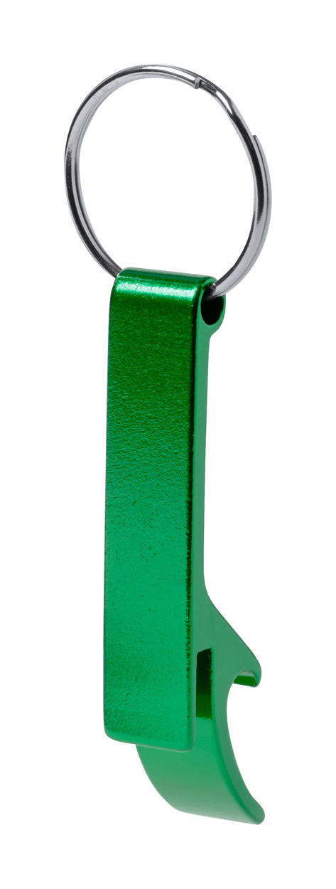 Stiked bottle opener