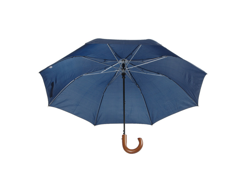 Stansed folding umbrella with wooden handle