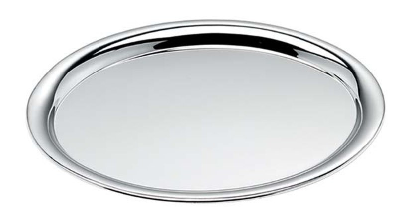 TRAY OVAL CHROMED - 220x305 mm