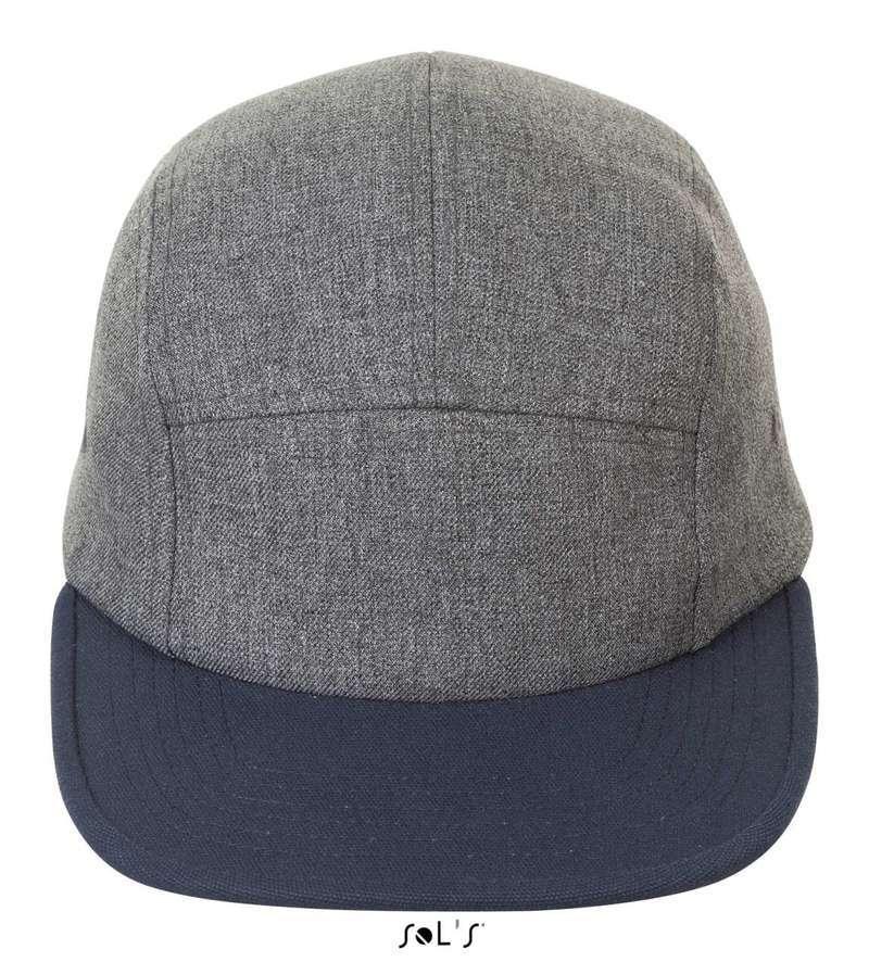 RAMSEY - 5-PANEL HEATHER TWO-COLOUR CAP