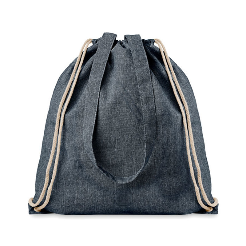 Recycled fabric 2 function bag