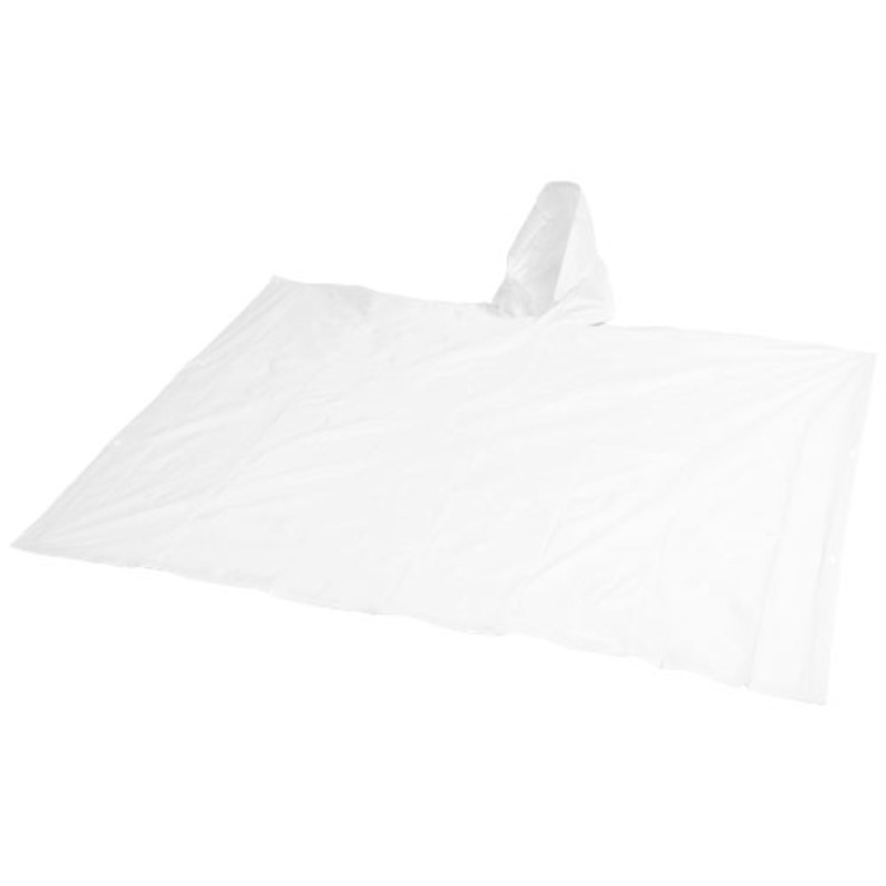 Pilar adjustable rain poncho with storage pouch