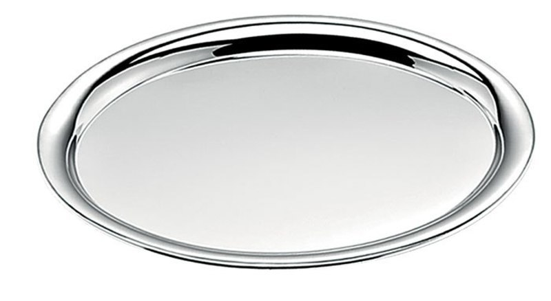 TRAY OVAL SHINY 25,5X19,3 mm