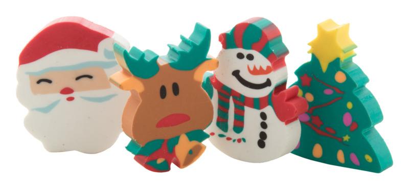 Flop Christmas eraser set