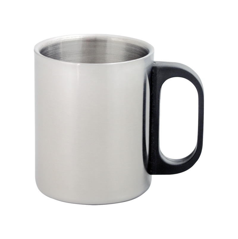 Gilbert double metal mug