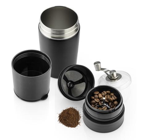 Travel mug with coffee grinder COLUMBIA 360 ml